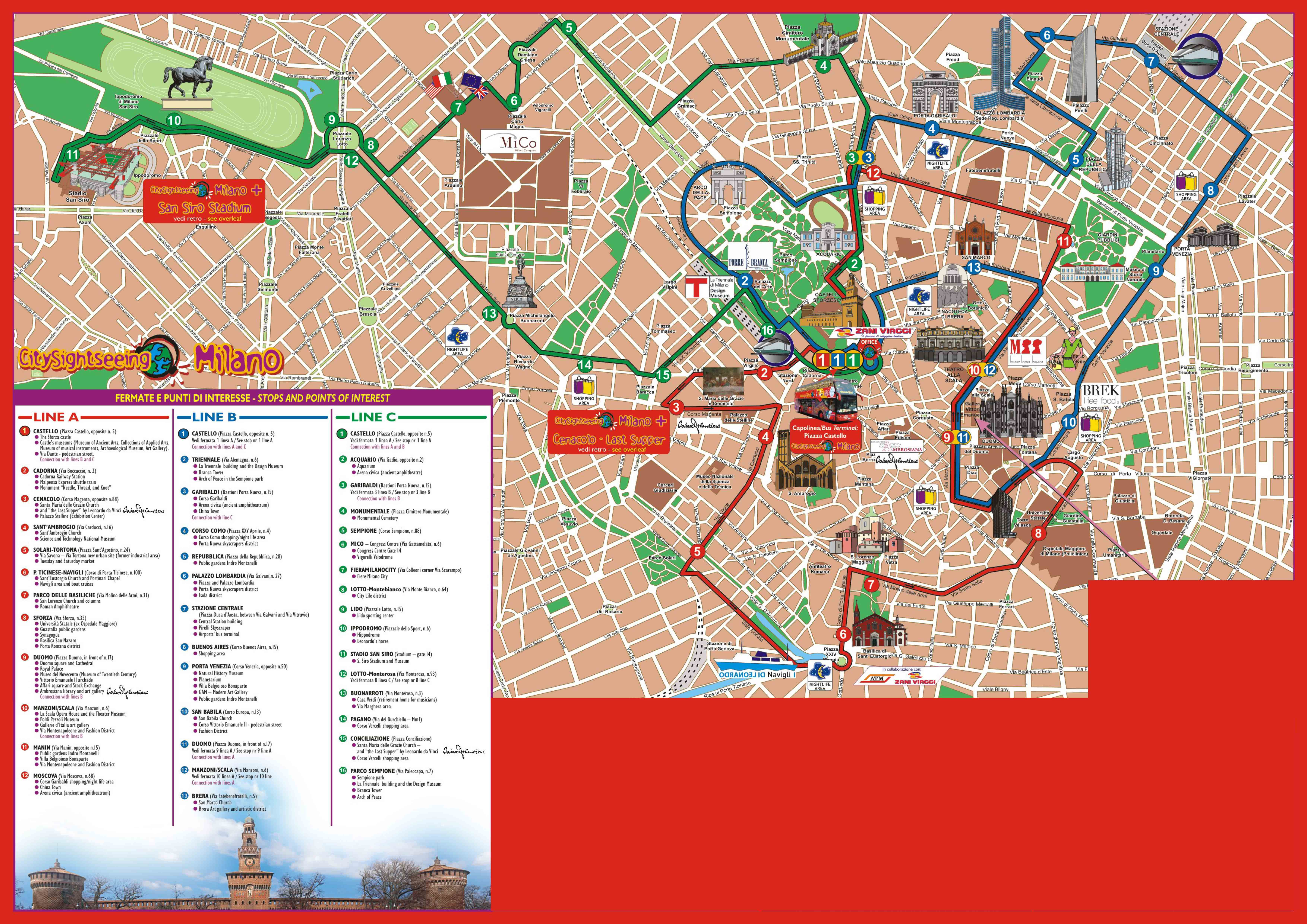 Tickets to City Sightseeing Milan | MilanTicketsInternational.com