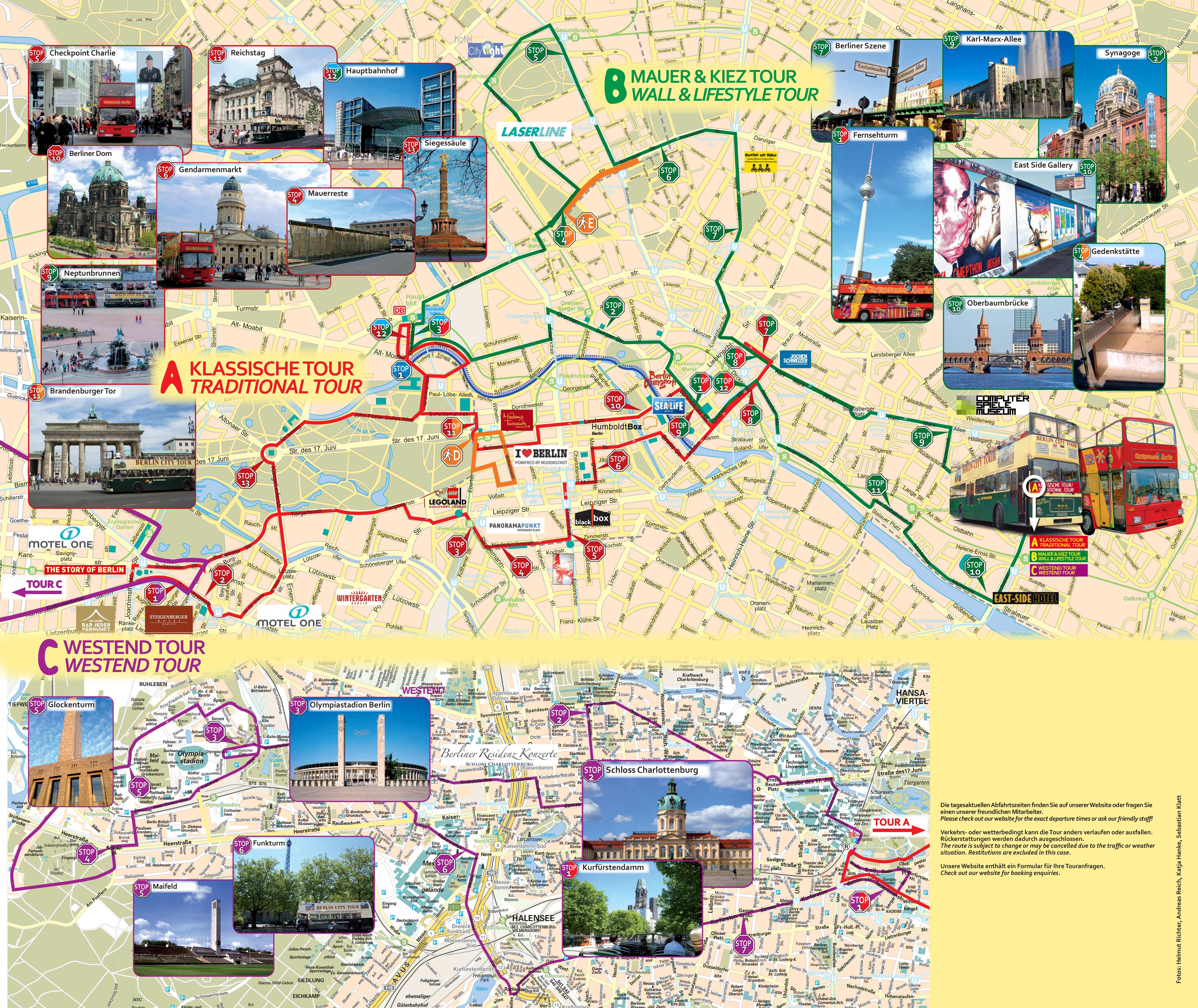 Berlin Open Top Bus Tour