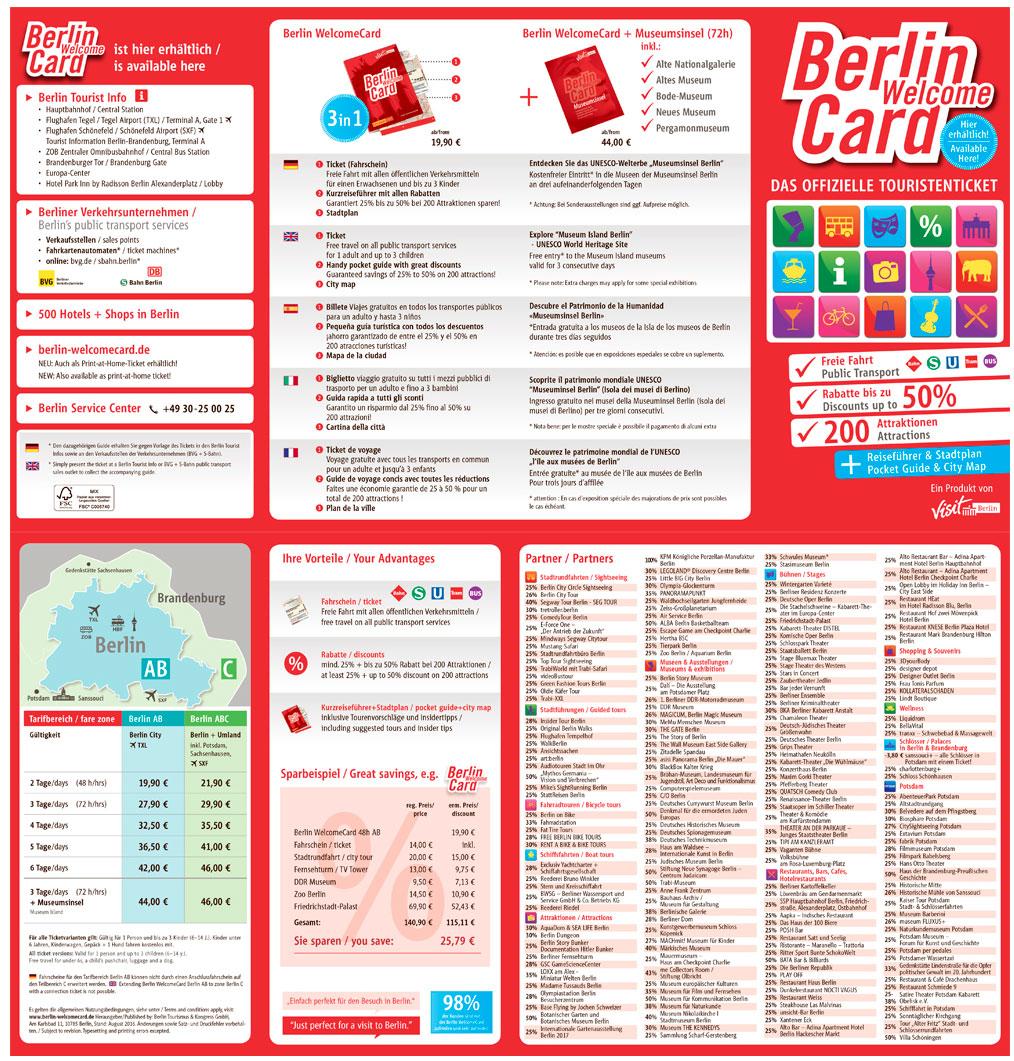 tickets to berlin welcomecard. Black Bedroom Furniture Sets. Home Design Ideas