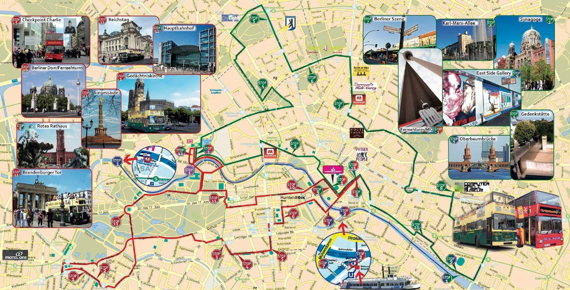 Berlin Sightseeing Hop On Hop Off Ticmate Europa Egyik Vezeto