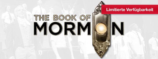 Erleben Sie The Book of Mormon - das neue Musical der Urheber von South Park. Gewinner von 9 Tony Awards! Garantiert lustig! Tickets online buchen!