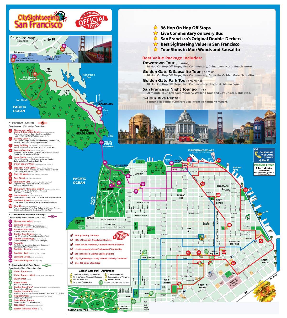 Hop On Hop Off Freestyle San Francisco Tickets International