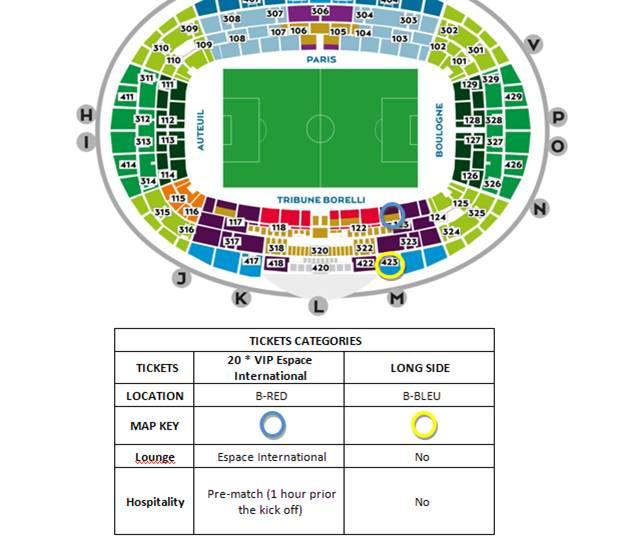 Tickets To Paris Saint Germain And Zlatan Ibrahimovic At Parc De Prince In Paris