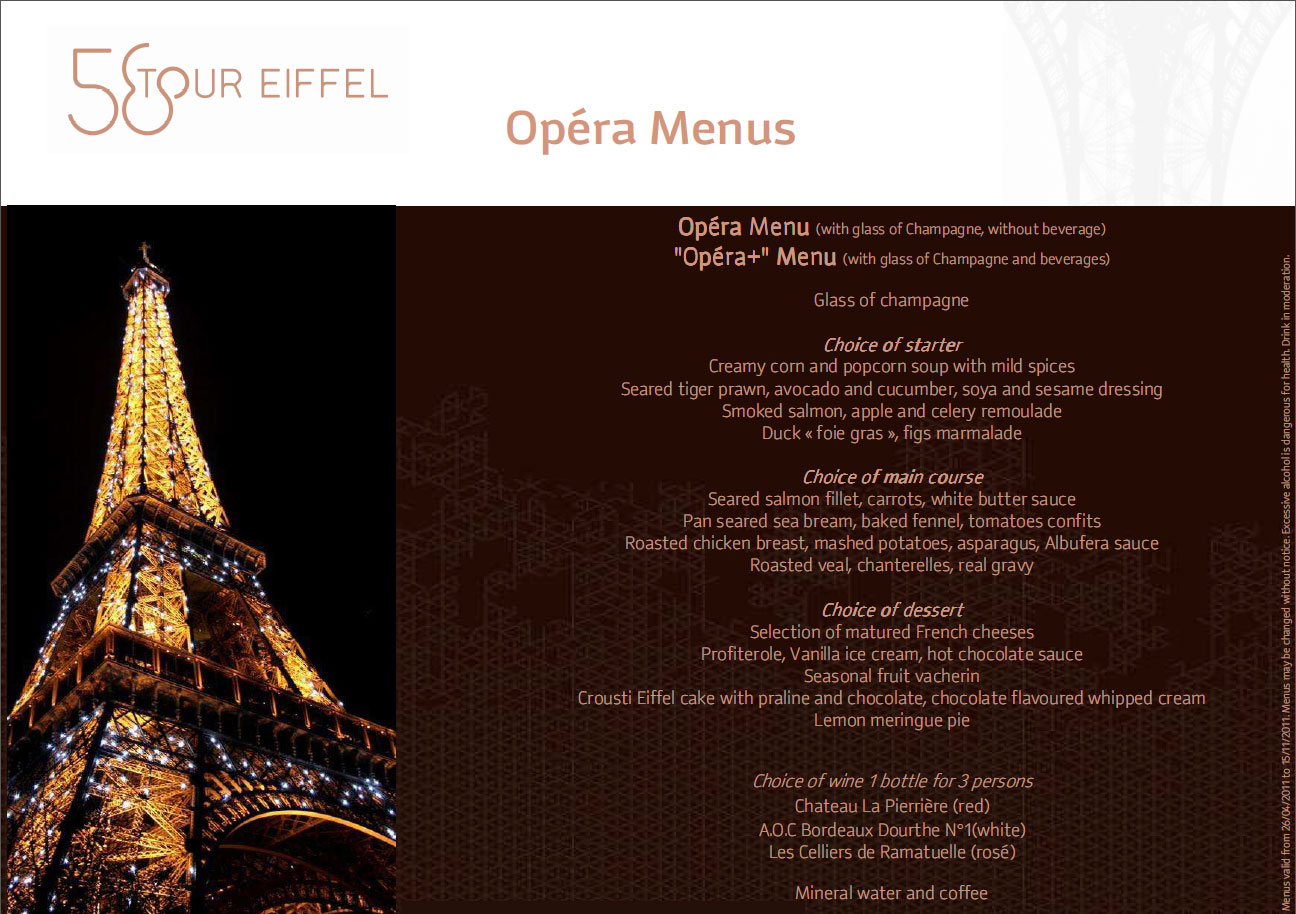 tour eiffel menu related keywords suggestions 58 tour eiffel menu