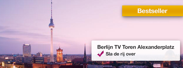 Vermijd de wachtrij bij de iconische Televisietoren in Berlijn! Geniet van het 360-graden panorama uitzicht op 207 meter boven de stad. Boek tickets hier!